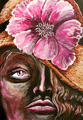 Painting - Sunday Hat by Yvonne Blasy