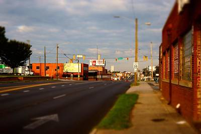 Photograph - Sunday In Gastonia 1 by Rodney Lee Williams