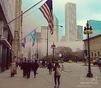 Photograph - Sunday In The City by Kathie Chicoine