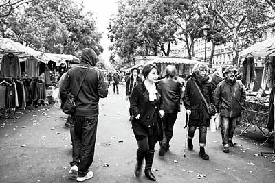 Photograph - Sunday Market In The Bastille by Hugh Smith