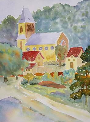 Painting - Sunday Morning At St. Germain II by Tara Moorman