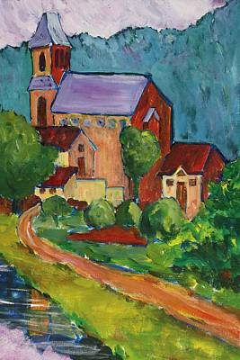 Painting - Sunday Morning At St Germain IIi by Tara Moorman
