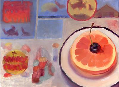 Sunday Morning Original by Diane Houghton