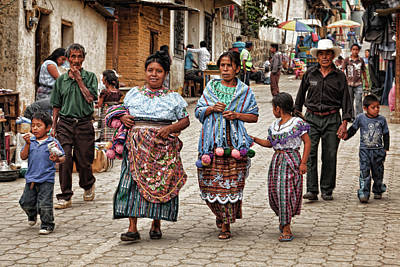 Sunday Morning In Guatemala Art Print
