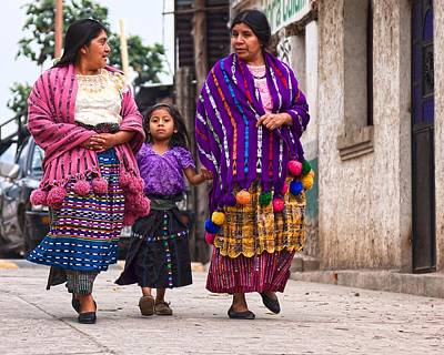 Photograph - Sunday Morning In San Marco, Guatemala by Tatiana Travelways