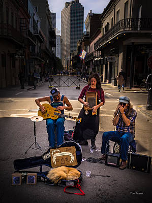 Photograph - Sunday Morning In The French Quarter  by Tim Bryan