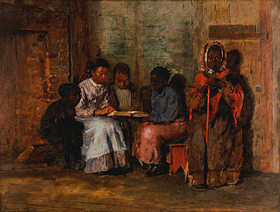 African-american Painting - Sunday Morning In Virginia by Winslow Homer
