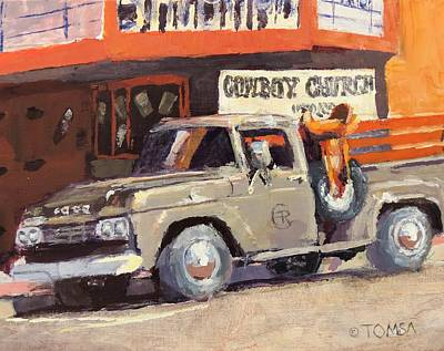Painting - Sunday Morning In Wickenburg by Bill Tomsa