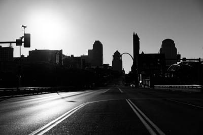 Photograph - Sunday Morning Skyline by Scott Rackers