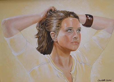 Painting - Sunday Morning Workout by JoAnne Castelli-Castor