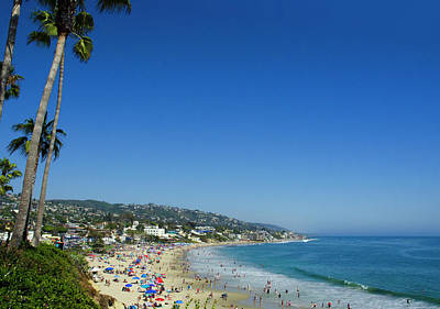 Photograph - Sunday On Laguna Beach by Marie Hicks