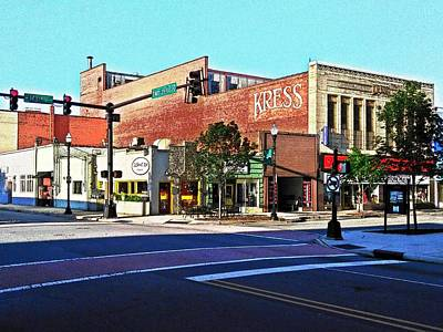 Photograph - Sunday On The Corner by Rodney Lee Williams