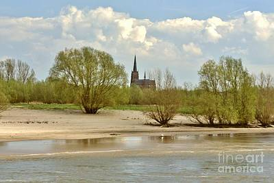 Sunday On The Rhine Art Print