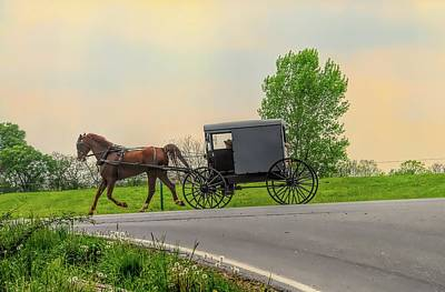 Photograph - Sunday Ride At Sunset On Ronks Road by Dyle Warren