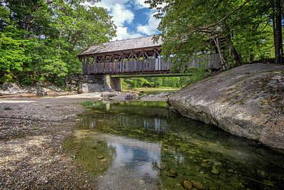 Photograph - Sunday River Bridge by Rick Berk