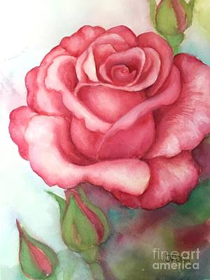 Painting - Sunday Rose by Inese Poga