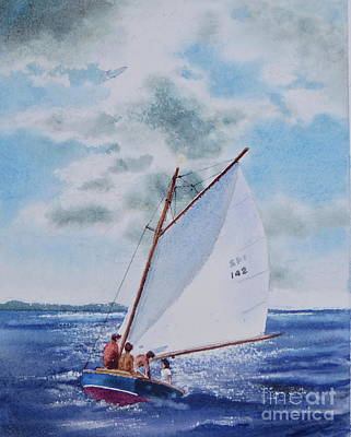 Sunday Sail Art Print