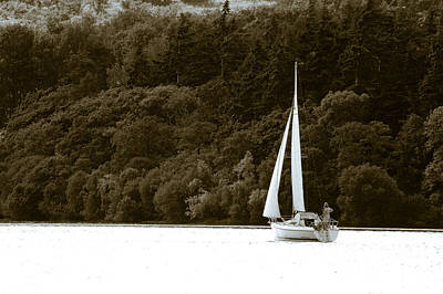 Lake Photograph - Sunday Sailor by Andy Smy