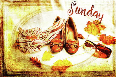 Photograph - Sunday Shoes by Randi Grace Nilsberg