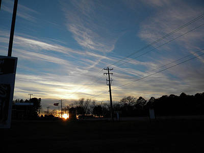 Photograph - Sunday Sunset On Highway 34 by Matthew Seufer