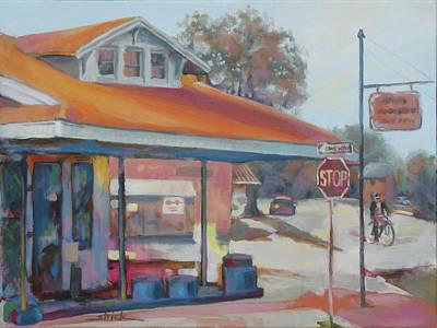 Painting - Sunday Traffic by Carol Strickland