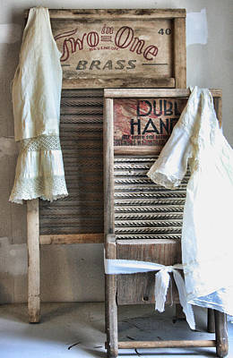 Vintage Laundry Photograph - Sundays Best by Marcie  Adams