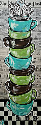 Sundays Cup A Joe Dark Roast Art Print