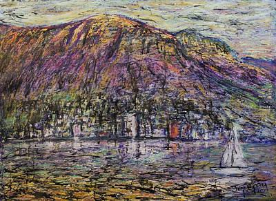 Jeremy Painting - Sundays In Hobart by Jeremy Holton