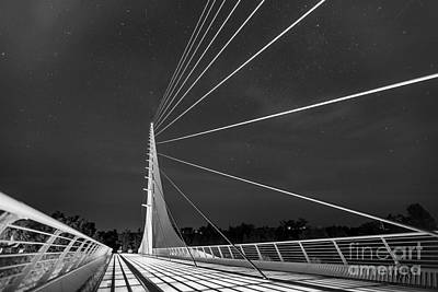 Sundial Bridge 2 Art Print