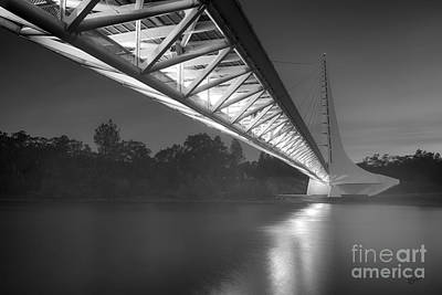 Photograph - Sundial Bridge 5 by Anthony Bonafede