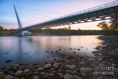 Sundial Bridge 7 Art Print