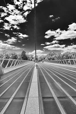 Photograph -  Sundial Bridge At Turtle Bay by Sagittarius Viking