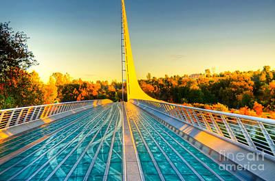Unicorn Dust - Sundial Bridge by Kelly Wade