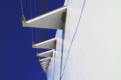 Photograph - Sundial Bridge Redding Ca Close Up by Joyce Dickens