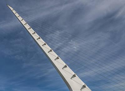 Photograph - Sundial Bridge Tower by Loree Johnson