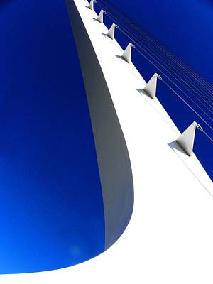 Photograph - Sundial Bridge Two by Elizabeth Hoskinson