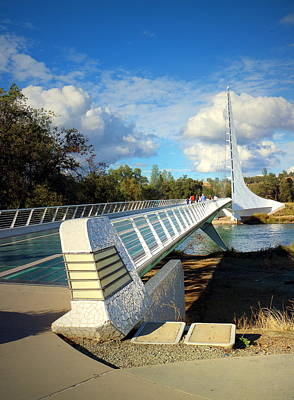 Photograph - Sundial Bridge Redding Ca 2017 by Joyce Dickens