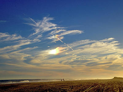 Photograph - Sundog by Newwwman