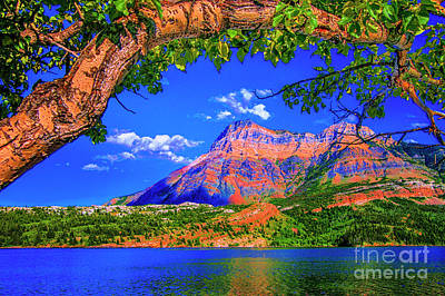 Photograph - Sundow Mountain by Rick Bragan