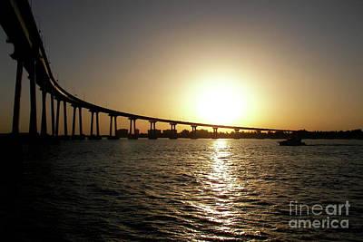 Photograph - Sundown At Coronado by Carol  Bradley