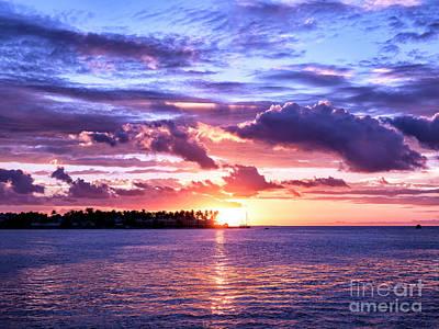 Photograph - Sundown At Key West by John Rizzuto