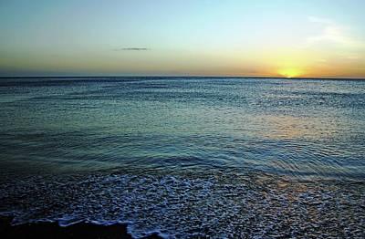 Photograph - Sundown At Manasota Key by Debbie Oppermann