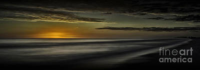 Photograph - Sundown At Santa Rosa Beach by Walt Foegelle