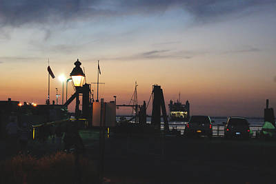 Photograph - Sundown At The Harbor by Margie Avellino