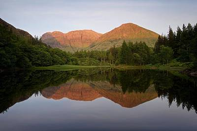 Photograph - Sundown At The Torren Lochan by Stephen Taylor
