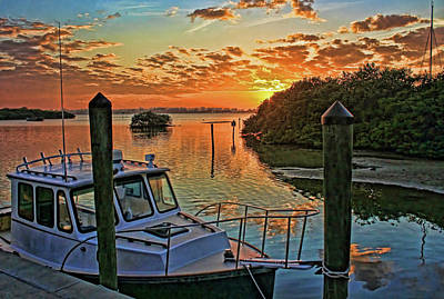 Photograph - Sundown By H H Photography Of Florida by HH Photography of Florida