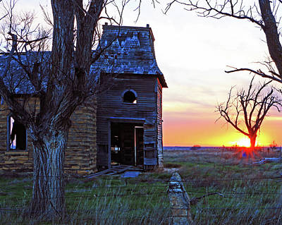 Photograph - Sundown Church by Christopher McKenzie