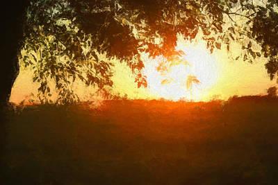 Painting - Sundown by Dan Sproul