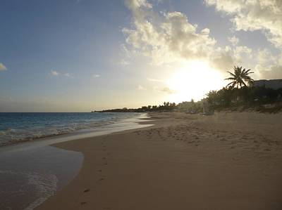 Photograph - Sundown In Anguilla by Margaret Brooks