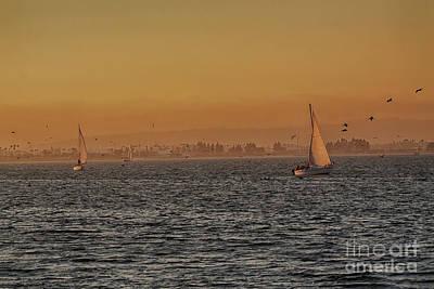 Photograph - Sundown In Coronado  by Ruth Jolly